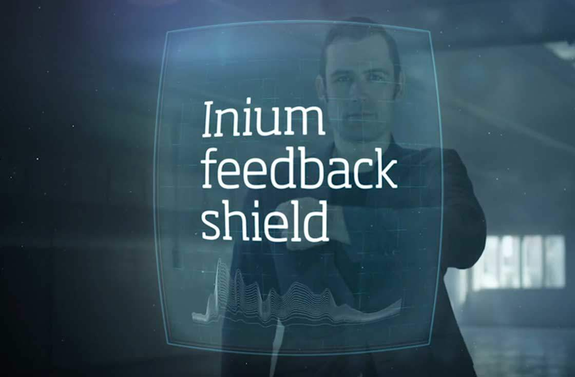 oticon inium feedback shield