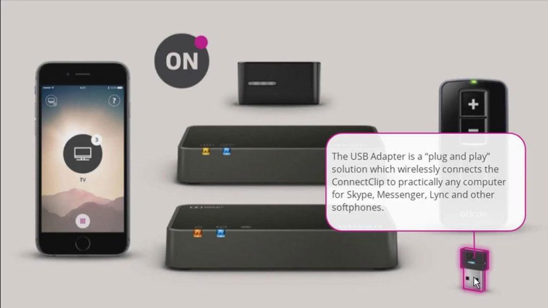 Oticon opn indirimli sgk destekli işitme cihazı Bluetooth ile Tv ve Tablet bağlantısı kurmaktadır.