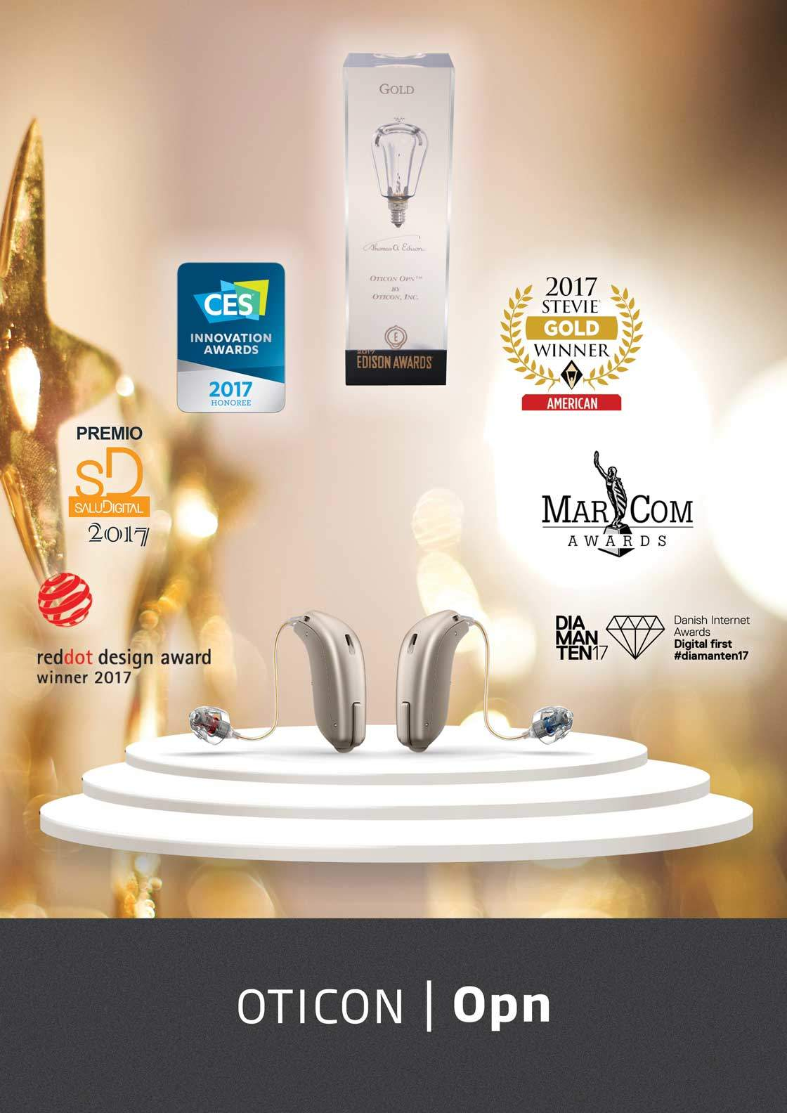 Oticon Opn Özellikleri ve Ödülleri
