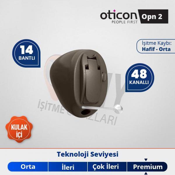 kulak içi işitme cihazı oticon opn 2 emy işitme