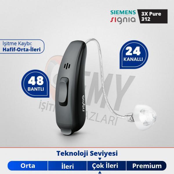 signia pure 3x işitme cihazı fiyatı ve özellikleri -Emy İşitme