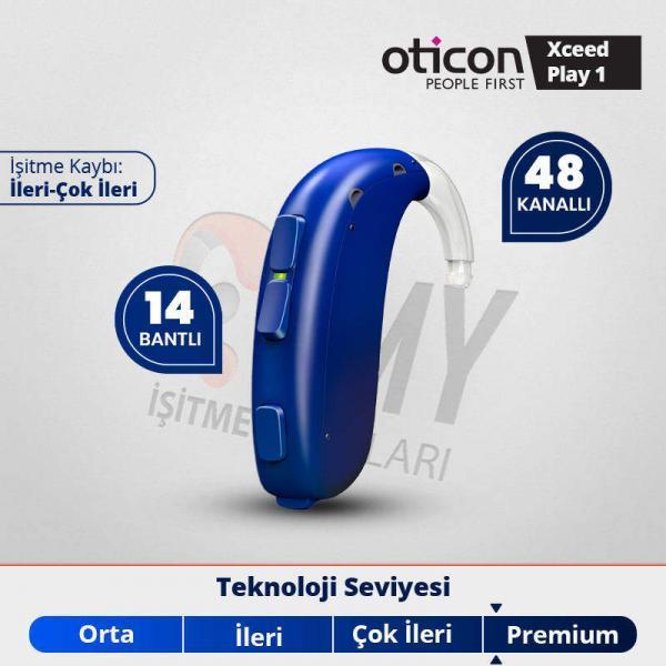 oticon xceed play 1 pediatrik işitme cihazı fiyatı ve özellikleri emyisitme.com.tr