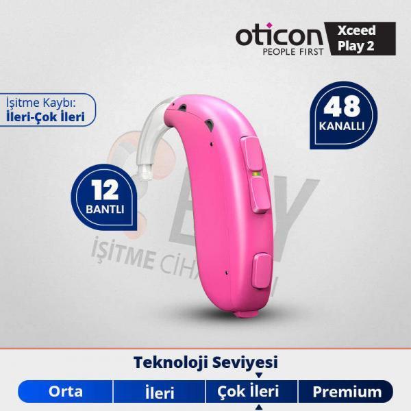 oticon xceed play 2 pediatrik işitme cihazı fiyatı ve özellikleri emyisitme.com.tr