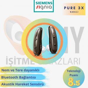 siemens signia pure 3x sarjlı işitme cihazı emy işitme