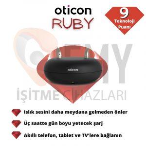 Oticon Ruby 2 İşitme cihazı fiyat emy işitme