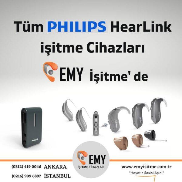 philips hearlink işitme cihazı fiyat modelleri emy işitme