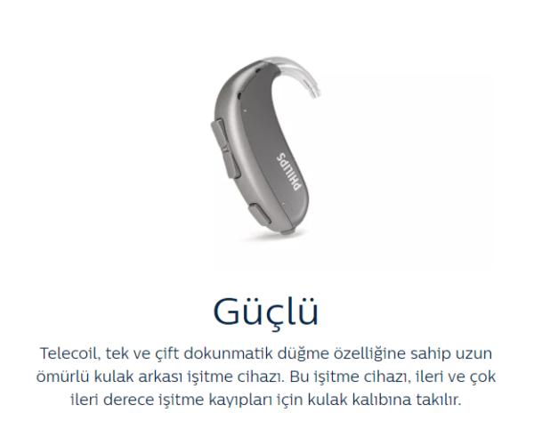 philips hearlink bte kulak arkası isitme cihazi