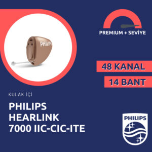 Philips Hearlink 7000 kulak içi görünmeyen işitme cihazı fiyatı emy isitme