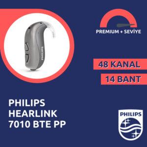 Philips Hearlink 7010 BTE PP premium süper güçlü kulak arkası işitme cihazı