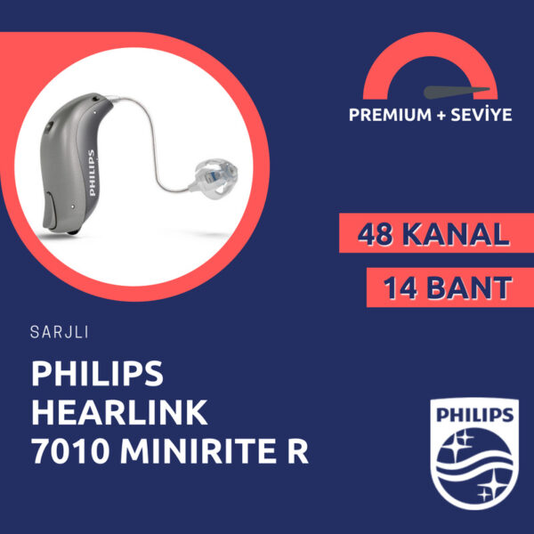 Philips Hearlink 7010 miniRITE R işitme cihazı fiyatı ve özellikleri emy işitme cihazları