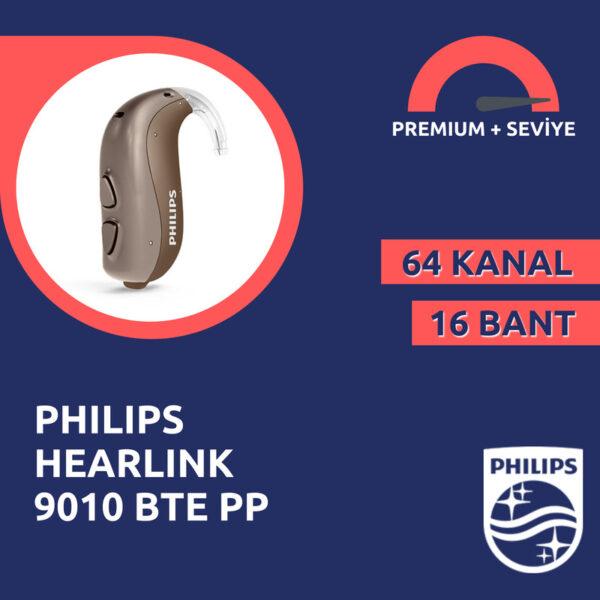 Philips Hearlink 9010 BTE PP kulak arkası Danimarka üretimi premium işitme cihazı emy işitme