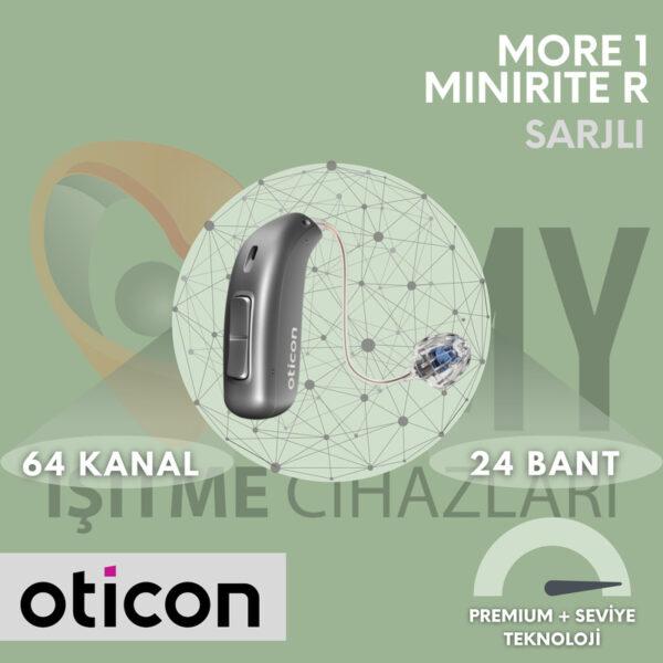 Oticon More 1 MiniRiteR Şarjlı İşitme Cihazı