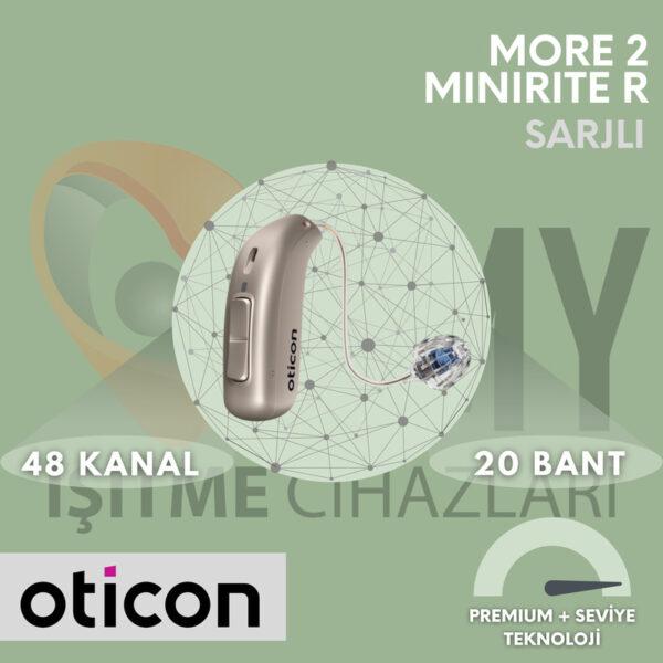 Oticon More 2 MiniRiteR Şarjlı İşitme Cihazı