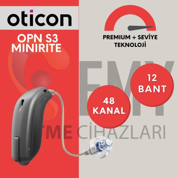 Oticon Opn S3 miniRITE fiyat ve özellikleri hakkında bilgi için emy işitme