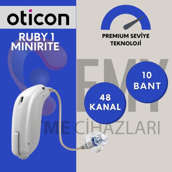 Oticon ruby 1 minirite fiyat özellik emy işitme