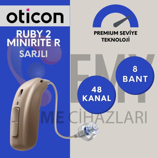 Oticon ruby 2 miniRITE R fiyatları emy işitme